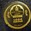 2015 Mongolia 1000 Tugrik (Togrog) LINCOLN 150th Anniversary GOLD Proof .5 gram