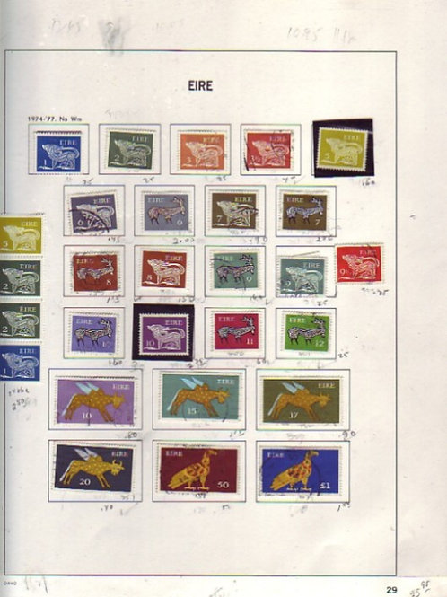 Ireland Stamp Collection- Davo pages to 1996, Lot 1474