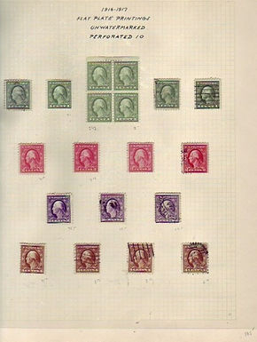 UNITED STATES Stamp Collection - Mint & used Lot 1344