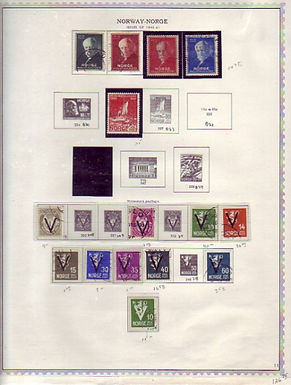 Norway Stamp Collection - Minkkus Specialty pages to 1984, Lot 1458