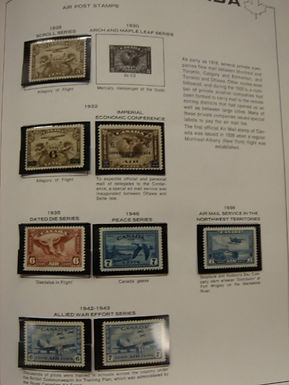 CANADA Stamp Collection 2 Volume, LH and NH - all in Showgard mounts,Lot # 840