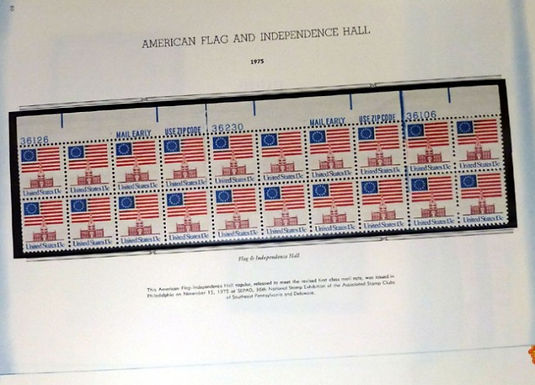 U.S. Stamp Collection, Definitive Plate Blocks, Lot # 1490