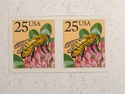#2281a, 1988 Honeybee Imperf Stamp Coil