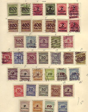 Germany Stamp Collection, Lot 1249