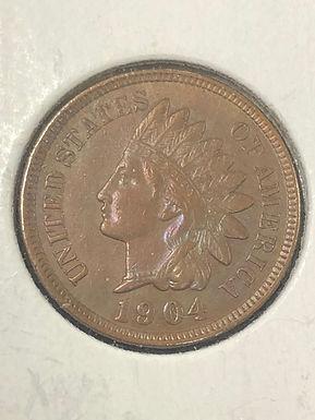 1904 Indian Head Cent AU 58