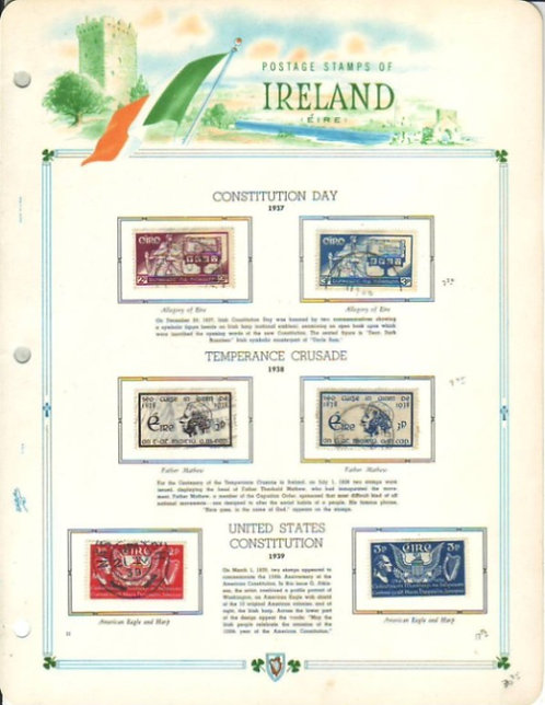 Ireland Stamp Collection Lot 1500, 1922 - 1990