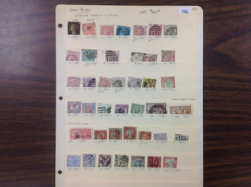 Great Britain Stamp Collection, Lot 1566