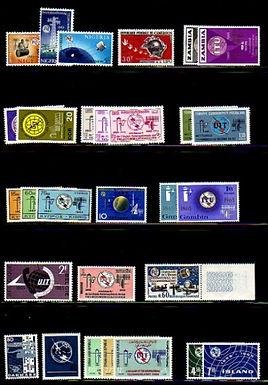 Lot 100 - International Telecommunication Union worldwide