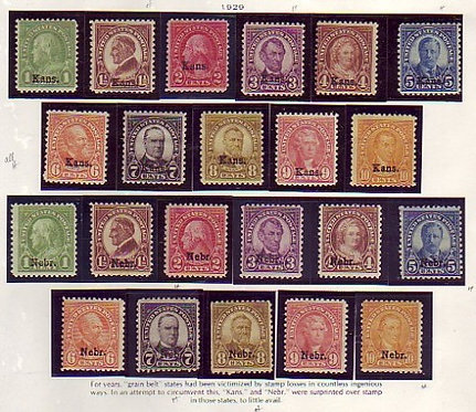 Better U.S. Stamp Collection - All Mint Stamps, Lot 1207