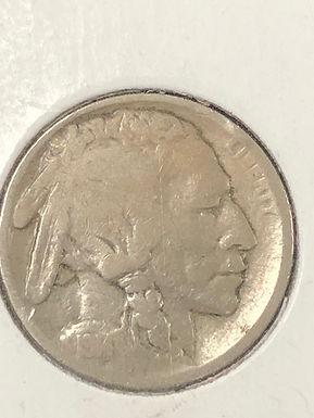 1914 S, Buffalo Nickel, VG