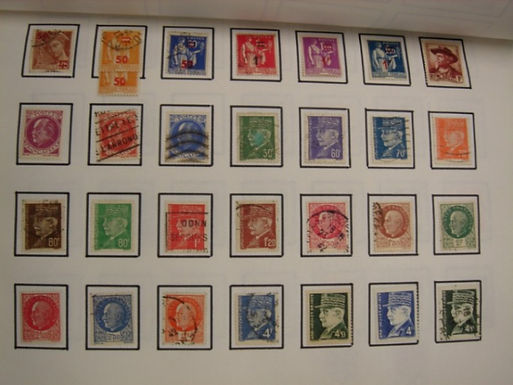 France Stamp Collection, Better Air Mails and semipostals, Lot 930