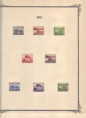 Iceland Stamp Collection, Lot 1468