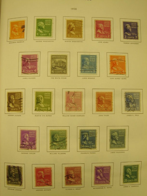 U.S. Stamp Collection in Liberty Album Lot 1153