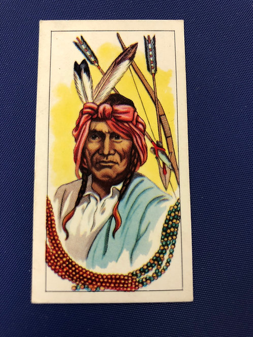 1962 G.P. Tea AMERICAN INDIAN TRIBES Cards, Made in UK