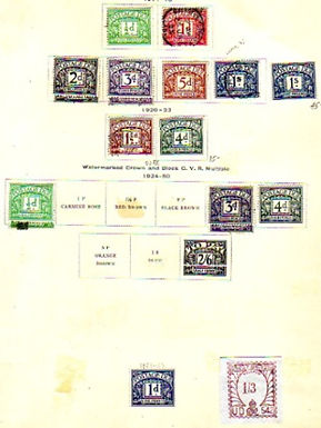 Great Britain Stamp Collection, interesting unlisted issues, Lot 1073