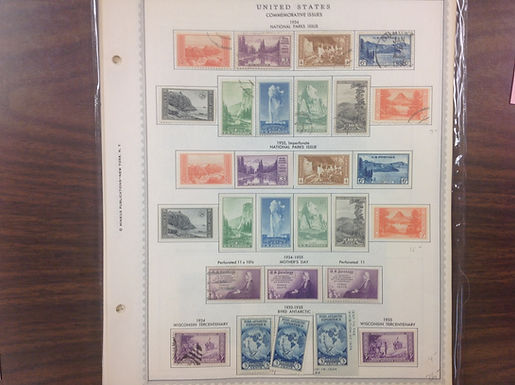 U.S. Commemoratives, Airmails & B.O.B. (1893-1940's), Lot 1578