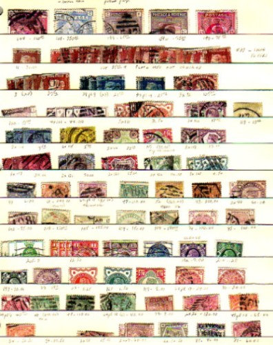 Great Britain Stamp Collection, Scott value $10,596, Lot 987