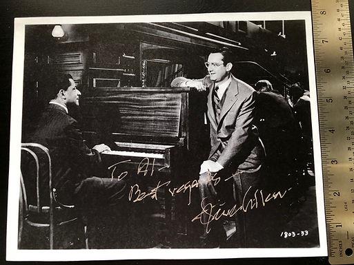 "TEDDY WILSON Pianist ""First Black & White Jazz Band"" Autograph w/ Benny Goodman"