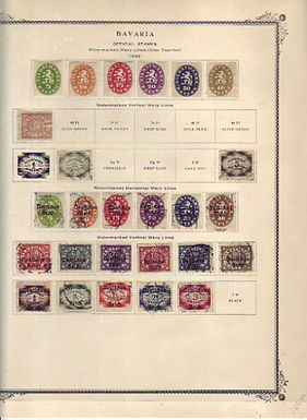 GERMAN STATES, Colonies, Occupations and Offices Stamp Collection, Lot 1459