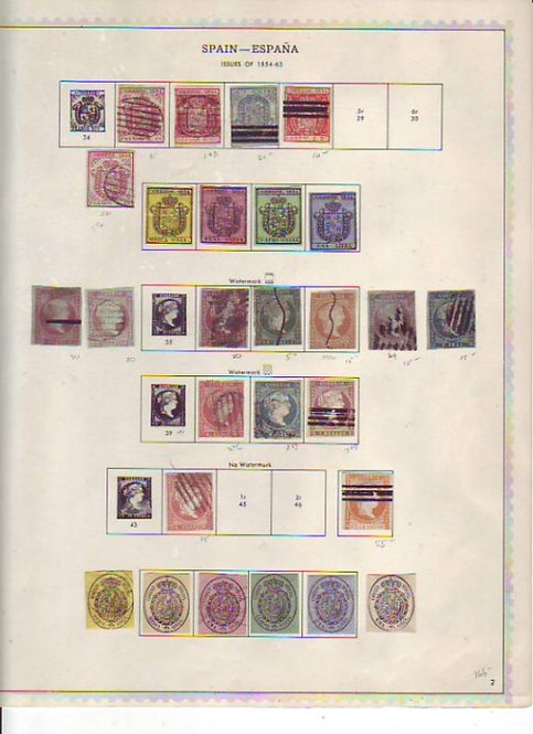 Spain Stamp Collection in Minkus album, Lot 1420