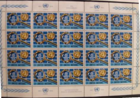 United Nations Stamp Collection: New York, Geneva and Vienna Lot 1244