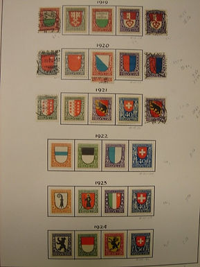 Switzerland Stamp Collection, Nice Semi-Postals, some FDCs, Lot 830