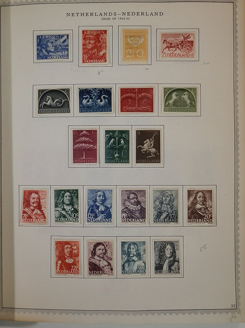 Netherlands Stamp Collection 1852 to 1967 Lot 1516