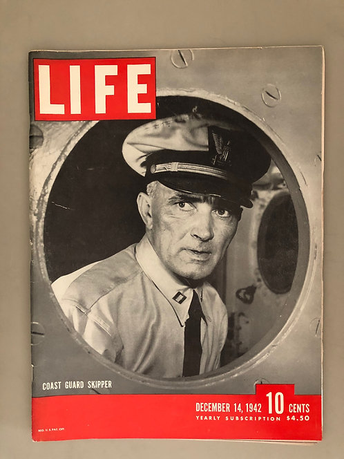 WW2 Life Magazine WARTIME ISSUE Dec 1942, Pearl Harbor, Coast Guard, GREAT ISSUE