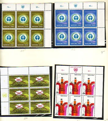 UNITED NATIONS Stamp Collections Lot 1419 New York & Geneva