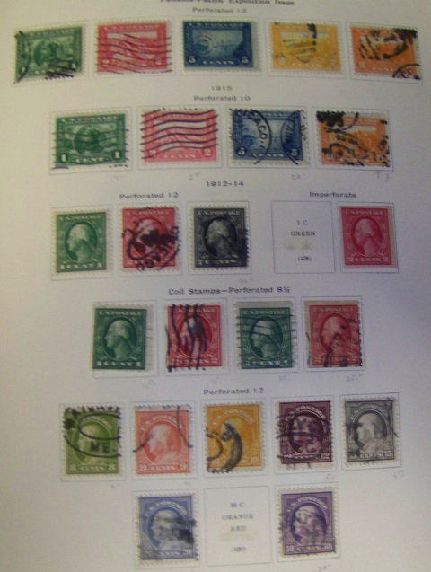 U.S. Stamp Collection Pages to 1976, Lot 1554