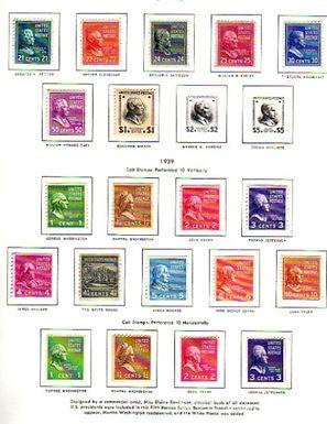 United States Stamp Collection - Third Bureaus Lot 1377
