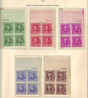 United States Stamp Collection, All are VF to XF, never hinged, Lot 1374