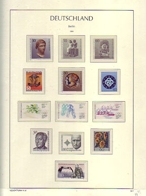 Germany - Berlin Stamp Collection, Lot 1472