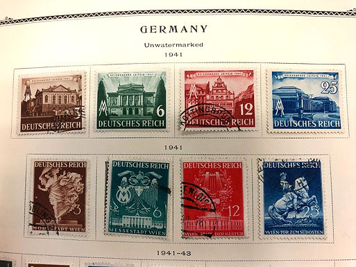 Germany Stamp Collection 1868-1954 occupied areas and DDR-  Lot 663
