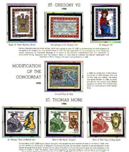 Vatican City, 2 White Ace albums, 1929-1996 Lot 1086