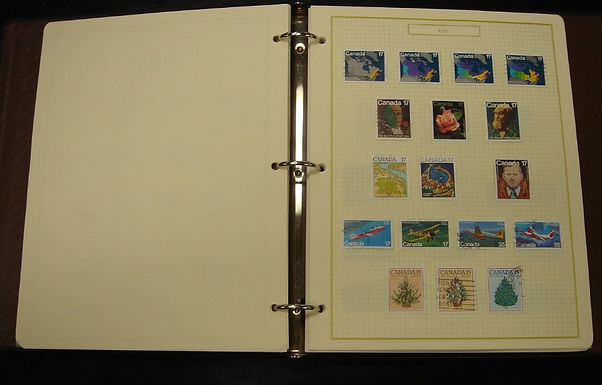 CANADA Stamp Collection, Good variety and nice stamps, Lot # 834