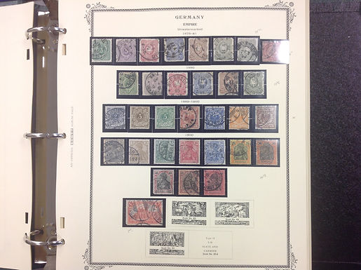 Germany 2 volume Stamp Collection, semi postal, airs, officials, MNH, Lot 1581