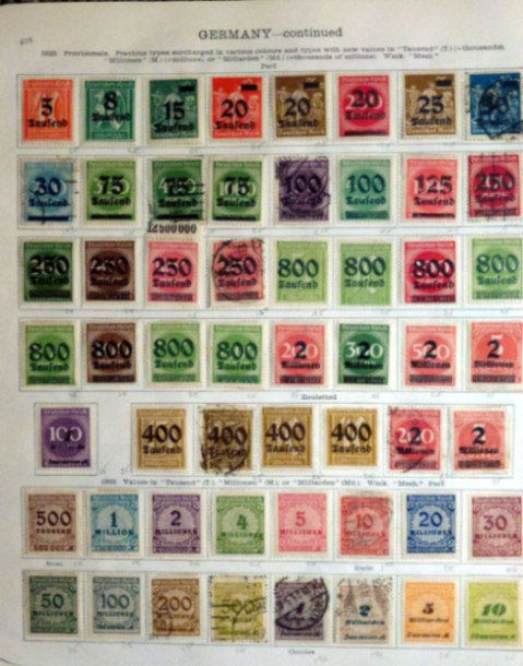 Germany - Classic Stamp Collection 1872-1936, Lot 1489