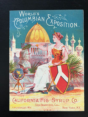 World's Columbian Exposition 1893 - California Fig Syrup Co Brochure RED version