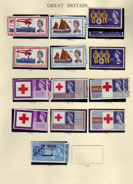 Classic Great Britain Stamp Collection - 1840 to 1970, Lot 1332