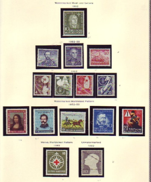 West Germany & Berlin Stamp Collection to 1993, Lot 1406