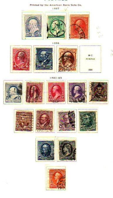 UNITED STATES Better Stamp Collection, Coils, AV/F,  Lot 1184