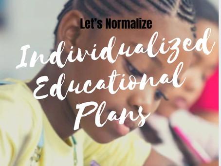 Individualized Educational Plans