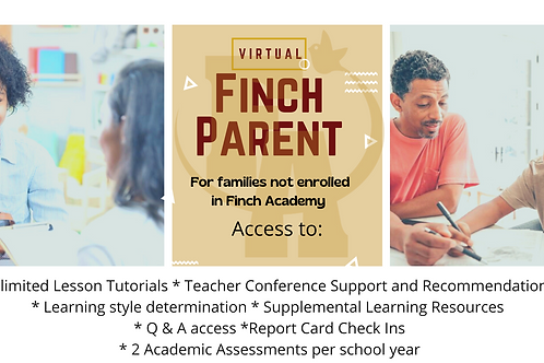 Finch Parent Monthly Membership