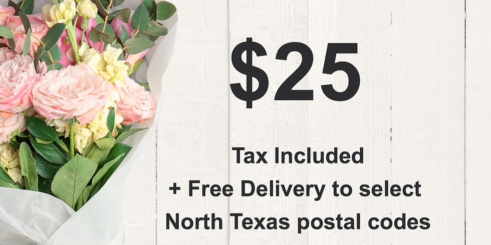 SOLD OUT Mother's Day Porch Bouquets $25