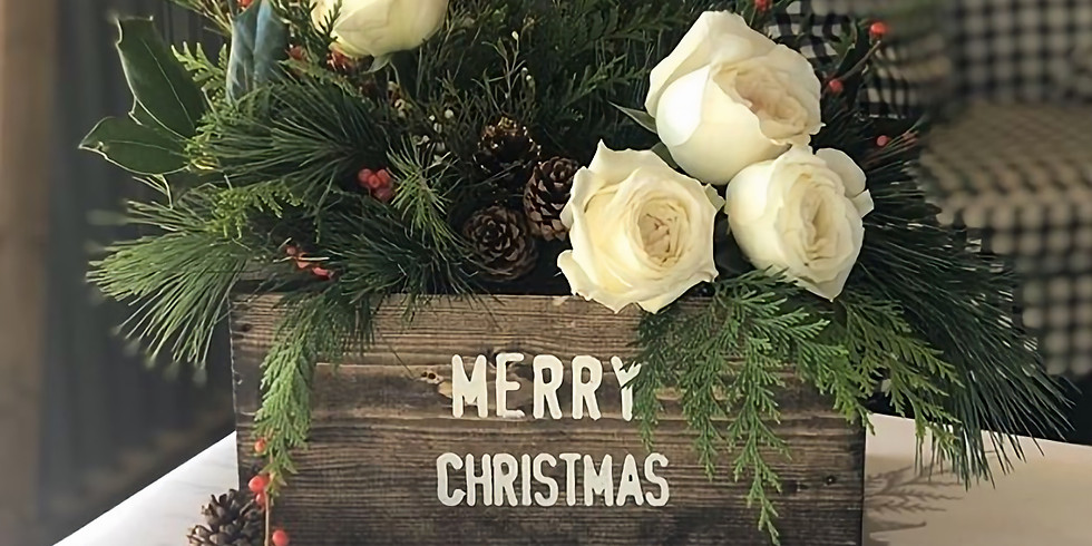 Holiday Floral Box with AR Workshop