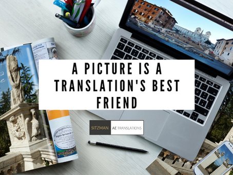 A Picture is a Translation's Best Friend