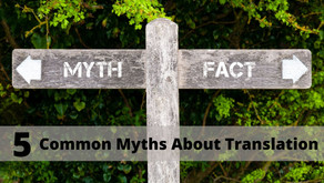 5 Common Myths About Translation and Transcreation