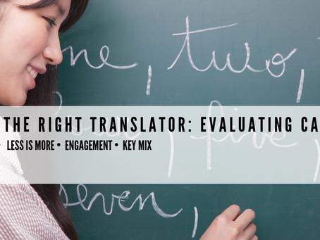 Finding the Best German Translator