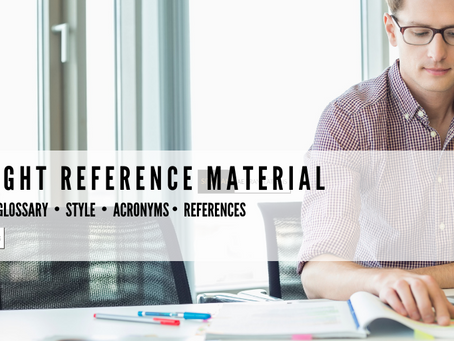 The Right Reference Material